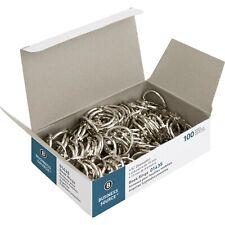 Sparco Premium Book Rings 3 inch Diameter 10 per Box Nickel Plated Steel