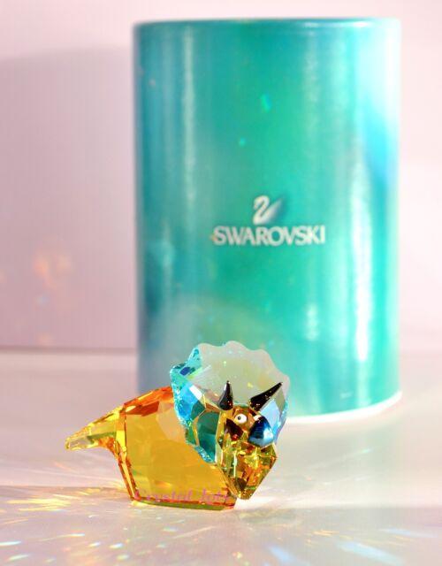 Swarovski Lovlots Yellow Dinosaur Travis 1143458 Brand New in Box