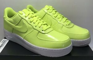 8c82dd2c559 Nike Mens Size 10.5 Air Force 1  07 LV8 AF1 UV Shoes Volt White ...