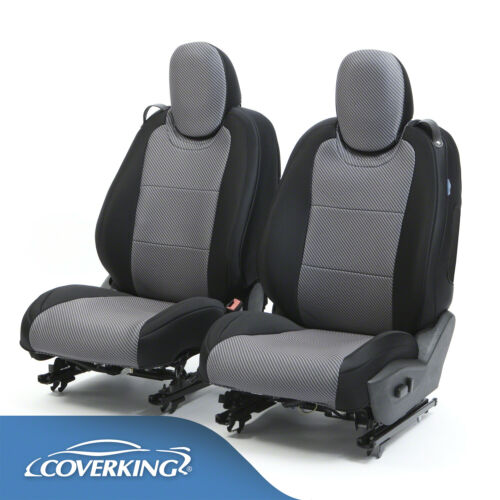 Coverking Neosupreme Carbon Fiber 2010-2015 Chevy Camaro 5 Custom Seat Covers