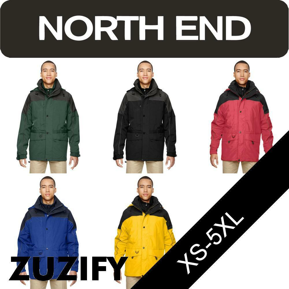 North End Mens 3-in-1 Two-Tone Parka. 88006