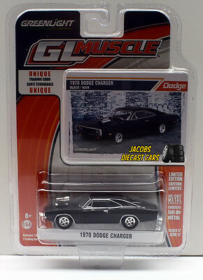 1:64  Greenlight Muscle Series 17 - 1970 Dodge Charger NICS