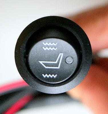Sitzheizung Carbon Heizmatten Nachrüstset Universal z.B. für Fiat 850 Spider