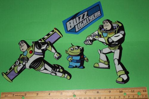 style #9 Disney Toy Story BUZZ Lightyear fabric appliques
