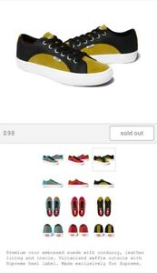 eff32d5a4f1 Image is loading Supreme-x-Vans-Crocodile-Corduroy-Lampin-Black-Size-