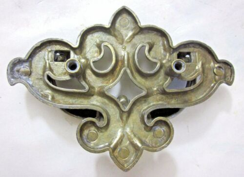 """1 Vintage Drop Bail Pull 149 Handle French Lily Brass Plated Drawer Holes=1-3//4/"""""""