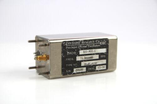 Crystal Oscillator Electronic Research EROS-800-MOD-6 79.000000MHz
