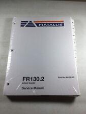 Fiat Allis Fr1302 Wheel Loader Service Manual
