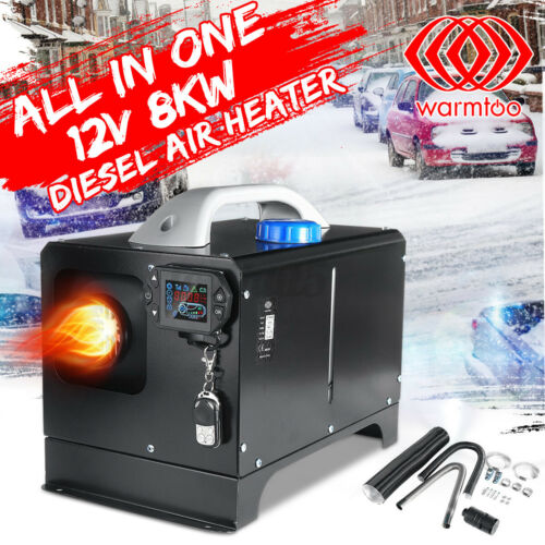 Warmtoo All In one 12V 8KW Metal Diesel Air Heater Car Parking Heater in US