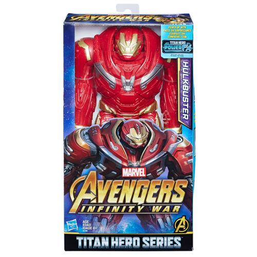 Marvel Avengers Infinity War Titan Hero Series Hulkbuster Power FX Port Figure