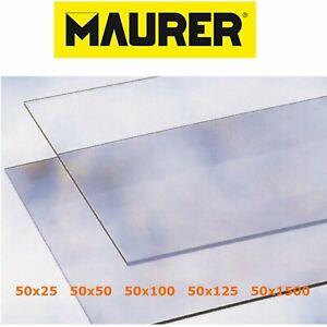 Vetro-sintetico-trasparente-pretagliato-finto-vetro-lastra-2-mm-Varie-Misure