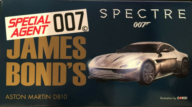 Corgi Cc08002 James Bond 007 Aston Martin Db10 Spectre Boxed