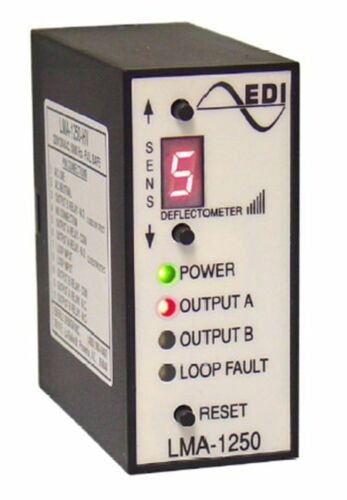 EDI LMA-1250-LV Loop Detector for Detection of Vehicles Inductive Meter Systems