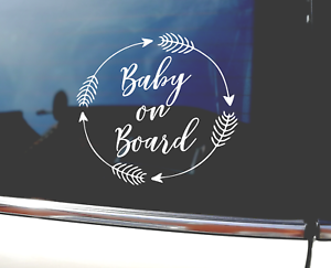 Baby-On-Board-Baby-Child-Window-Bumper-Car-Sign-Decal-Sticker