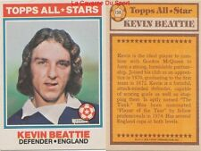 138 KEVIN BEATTIE # ENGLAND ALL STARS CARD PREMIER LEAGUE TOPPS 1978