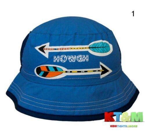 Boys Kids Summer Cotton Beach Holiday Hat Cap Bush//Boonie//Bucket 4-7 years Arrow