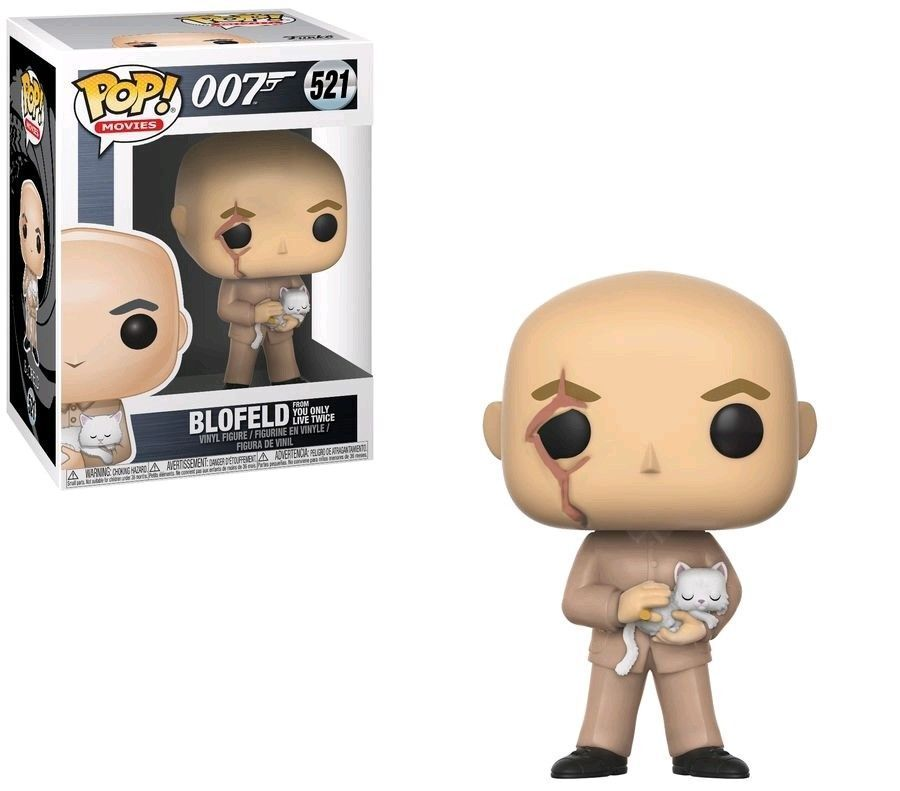 007 James Bond You Only Live Twice Blofeld 9.5cm Pop Pop Pop Filme Vinyl Figur FUNKO 0ebb03