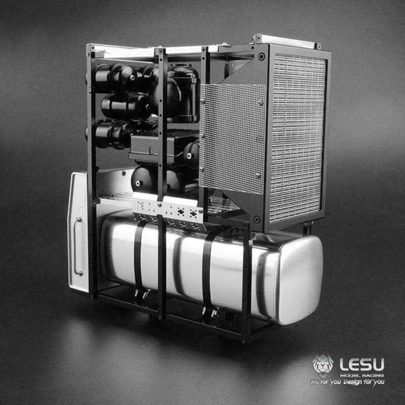 LESU metal equipo pesado Rack Estante 1 14 Tamiya Benz radio control modelo Camión Tractor