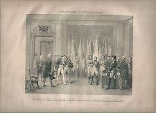 1827 DRAPEUX D'AUSTERLITZ Madou Napoleone Napoleon standards Third Coalition