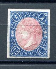 1865.ESPAÑA.EDIFIL 70a*.NUEVO.(MH).CERTIFICADO CMF.GOMA ORIGINAL.LUJO.CAT 735 €