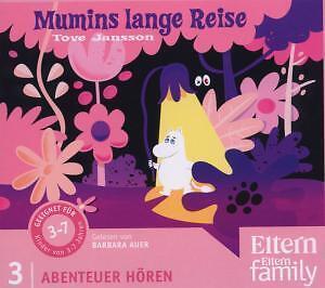 Mumins lange Reise - ELTERN-Edition Abenteuer Hören 2. 1 CD von Jansson, Tove
