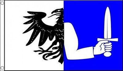 3' x 2' CONNACHT FLAG Ireland Irish County Munster Ulster Eire
