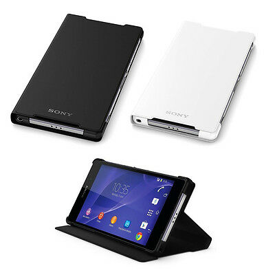 Genuine Ultra Thin Stand Flip Leather Case For SONY Xperia Z2 Z3 Z3 Compact new