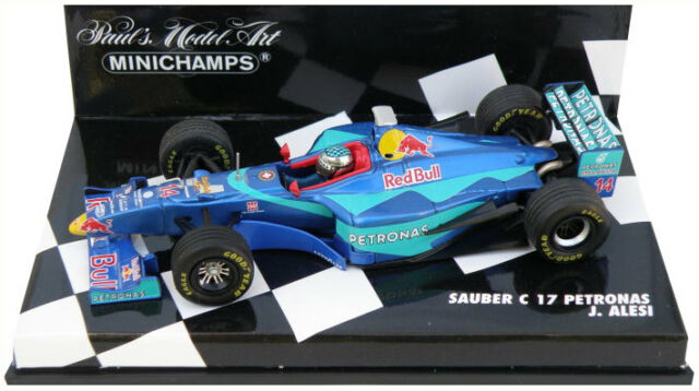 Minichamps Sauber C17 1998-Jean Alesi escala 1/43