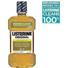 Listerine Antiseptic Mouthwash Original 1 Liter
