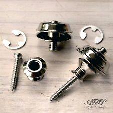ATTACHE COURROIE Strap Lock DUNLOP SECURITY 2x Nickel  AP-6581-001