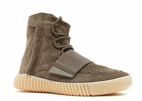 Adidas Mens Yeezy Boost 750 Kanye WEST Chocolate Brown Gum Suede Size 7