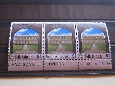 Zielstrebig Norfolk Island Schöner Dreier 1 Legistlativ-versammlung 1979 Xx