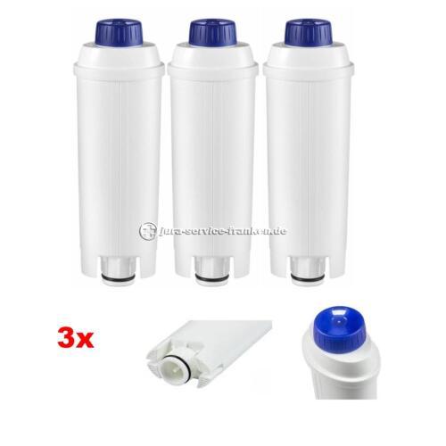 SER 3017 ECAM ESAM BCO 3 x Wasserfilter passend füralle Delonghi mit DLS C002