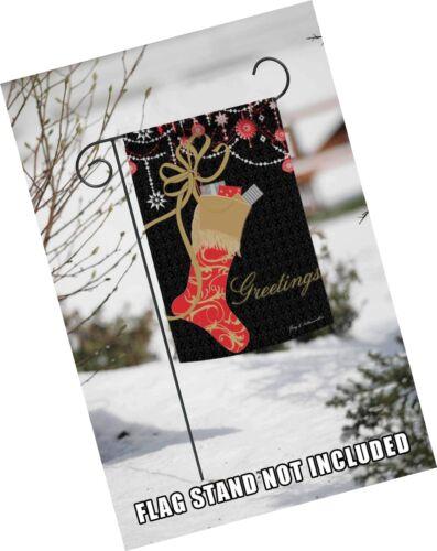 Toland Home Garden Sparkly Stocking 12.5 x 18 Inch Decorative Christmas Ornam...