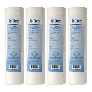 10 x 2.5 Inch 1 Micron Spun Polypropylene Sediment Water Filter 2 Pack