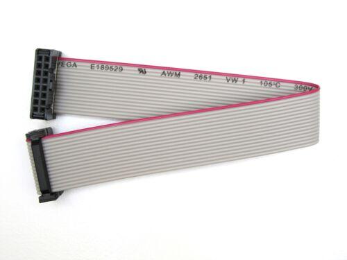 IDC 16-Polig Flachbandkabel mit Pfostenbuchsen