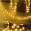 SERIE-LUCI-100-LED-LAMPADINE-FESTE-PARTY-DECORAZIONI-ADDOBBI-NATALE-BIANCO-CALDO miniatura 9