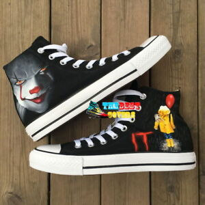 1ce7902092c1 IT PENNYWISE THE CLOWN hand painted shoes zapatos pintados scarpe ...