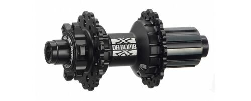 142 thru axle New DA BOMB UFO R-142 32H,135 QR QR 6 Bolts Disc Rear Hub