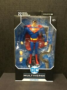 McFarlane DC Multiverse Superman The Animated Series Action Figure NEW//Sealed