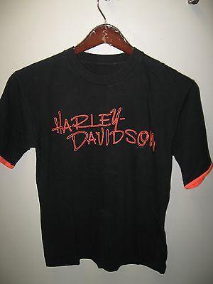 Harley Davidson 1993 Daytona Beach Florida USA Bike Week Wham Neon T Shirt Med