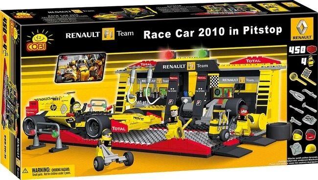 Conjuntos de construcción -- Renault - 450 piezas conjunto de construcción F1 Coche & Pitstop
