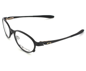 3f5c6a88c53 Image is loading NEW-Oakley-Overlord-Titanium-Prescription-Frame-Black-51mm-