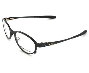10a5e1bd97 Image is loading NEW-Oakley-Overlord-Titanium-Prescription-Frame-Black-51mm-