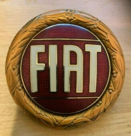 NUOVA FIAT X19 X1//9 smaltato badge-Bronzo Stile 1 come da più tardi 1300 AUTO 850 124
