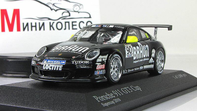 Échelle Voiture 1 43, PORSCHE 911 GT3 CUP  VIP PORSCHE SUPERCUP 2010  magasin d'usine de sortie