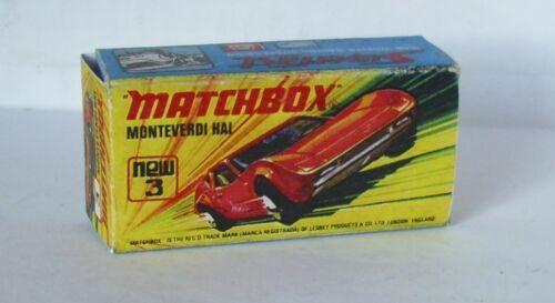 REPRO BOX MATCHBOX Superfast Nº 3 Monteverdi squalo