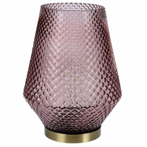 17 cm Wohnzimmer Tischlampe rosa Home Styling Collection