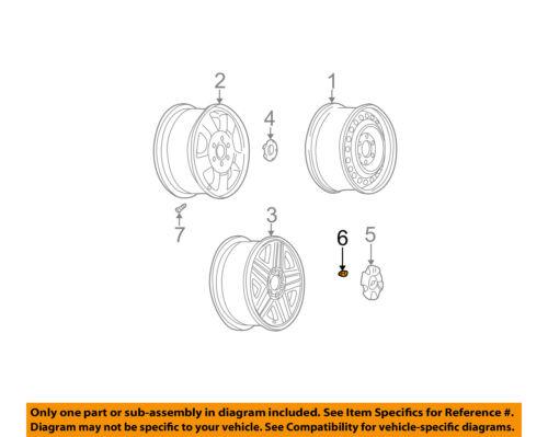 GM OEM Wheel-Lug Nut 9594681