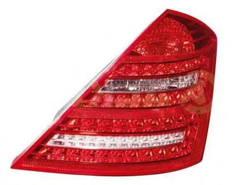 MERCEDES S-KLASSE W221 AB  09 HECKLEUCHTE RÜCKLEUCHTE RÜCKLICHT LED rechts
